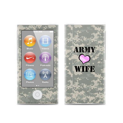 Apple iPod Nano (7G) Skin - Army Wife