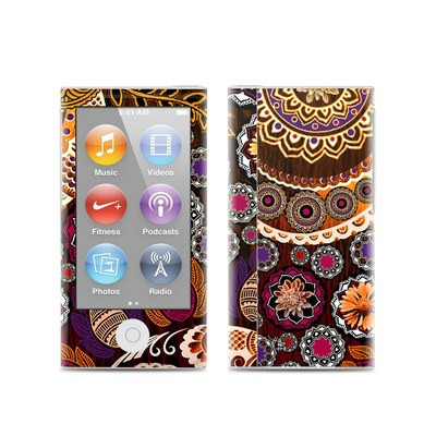 Apple iPod Nano (7G) Skin - Autumn Mehndi