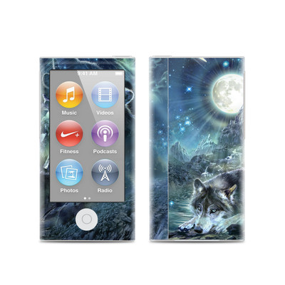 Apple iPod Nano (7G) Skin - Bark At The Moon