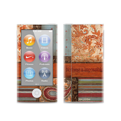 Apple iPod Nano (7G) Skin - Be Inspired