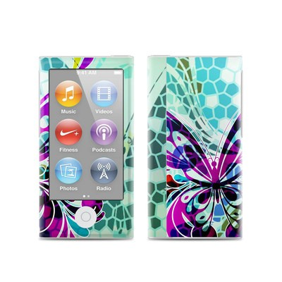 Apple iPod Nano (7G) Skin - Butterfly Glass