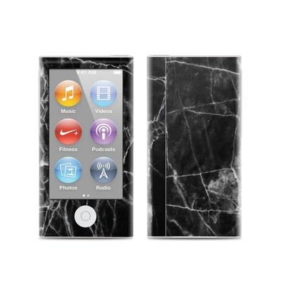 Apple iPod Nano (7G) Skin - Black Marble