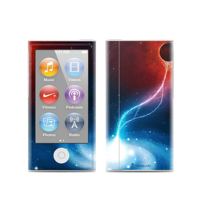 Apple iPod Nano (7G) Skin - Black Hole