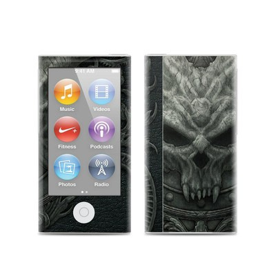 Apple iPod Nano (7G) Skin - Black Book