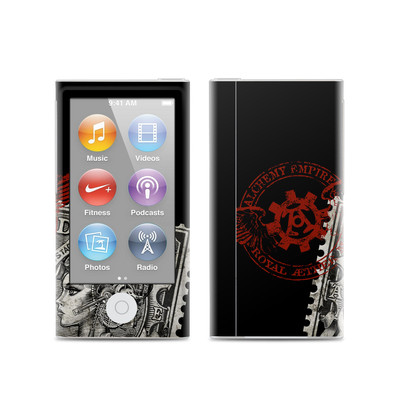Apple iPod Nano (7G) Skin - Black Penny