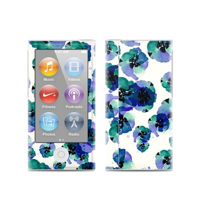 Apple iPod Nano (7G) Skin - Blue Eye Flowers