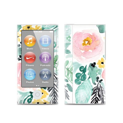 Apple iPod Nano (7G) Skin - Blushed Flowers