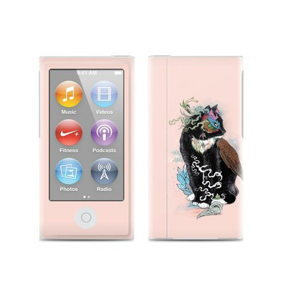 Apple iPod Nano (7G) Skin - Black Magic