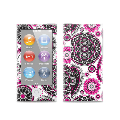 Apple iPod Nano (7G) Skin - Boho Girl Paisley
