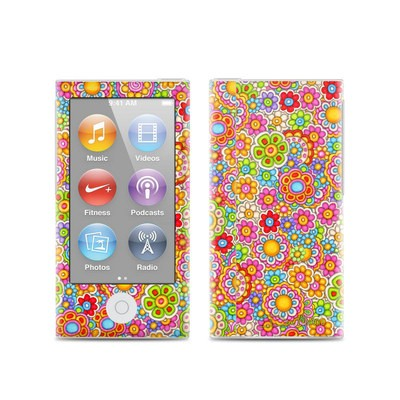 Apple iPod Nano (7G) Skin - Bright Ditzy
