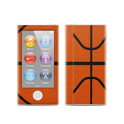 Apple iPod Nano (7G) Skin - Basketball