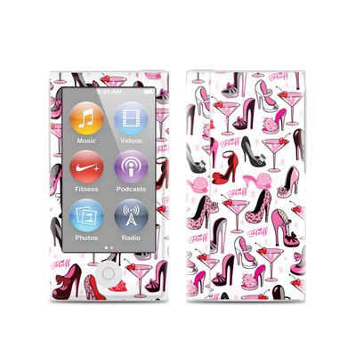 Apple iPod Nano (7G) Skin - Burly Q Shoes