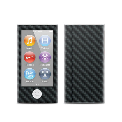 Apple iPod Nano (7G) Skin - Carbon