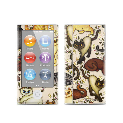Apple iPod Nano (7G) Skin - Cats