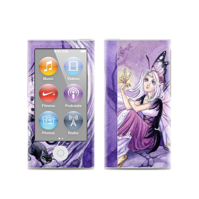 Apple iPod Nano (7G) Skin - Chasing Butterflies