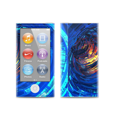 Apple iPod Nano (7G) Skin - Clockwork