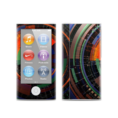 Apple iPod Nano (7G) Skin - Color Wheel