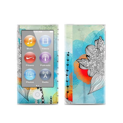 Apple iPod Nano (7G) Skin - Coral