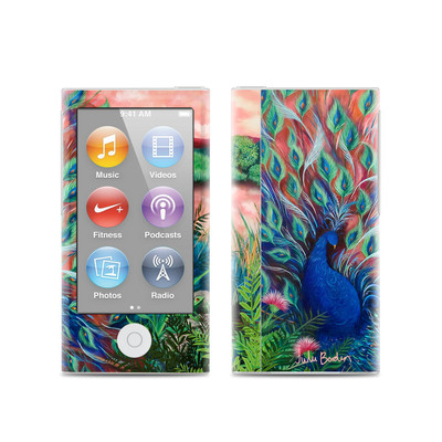 Apple iPod Nano (7G) Skin - Coral Peacock