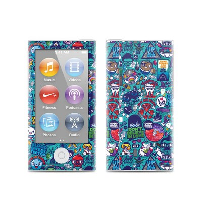 Apple iPod Nano (7G) Skin - Cosmic Ray