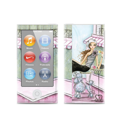 Apple iPod Nano (7G) Skin - Cafe Paris