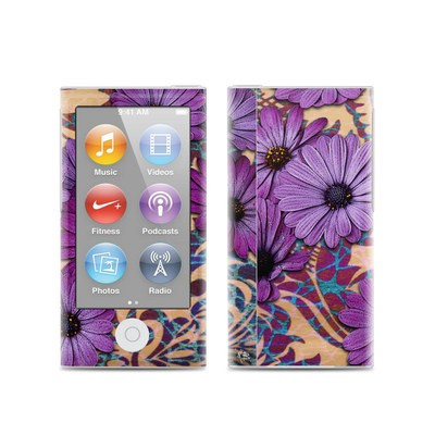 Apple iPod Nano (7G) Skin - Daisy Damask