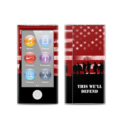 Apple iPod Nano (7G) Skin - Defend