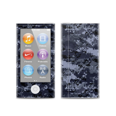 Apple iPod Nano (7G) Skin - Digital Navy Camo