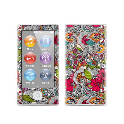 Apple iPod Nano (7G) Skin - Doodles Color