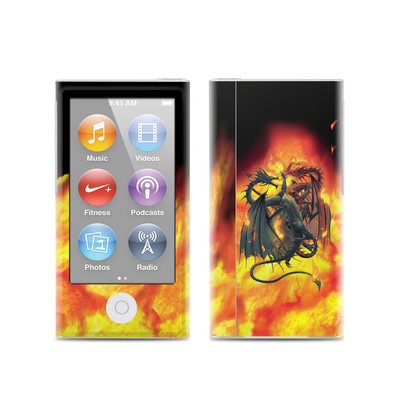 Apple iPod Nano (7G) Skin - Dragon Wars
