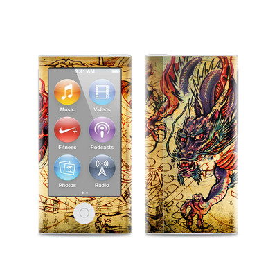Apple iPod Nano (7G) Skin - Dragon Legend