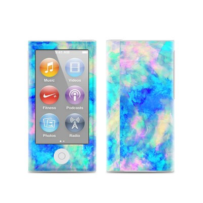 Apple iPod Nano (7G) Skin - Electrify Ice Blue