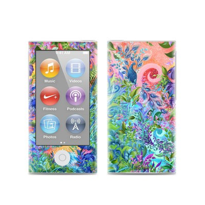 Apple iPod Nano (7G) Skin - Fantasy Garden