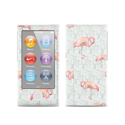 Apple iPod Nano (7G) Skin - Flamingo Mosaic