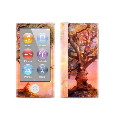 Apple iPod Nano (7G) Skin - Fox Sunset