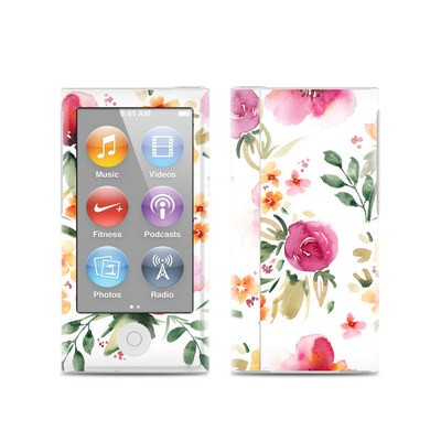 Apple iPod Nano (7G) Skin - Fresh Flowers