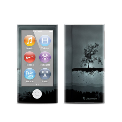 Apple iPod Nano (7G) Skin - Flying Tree Black