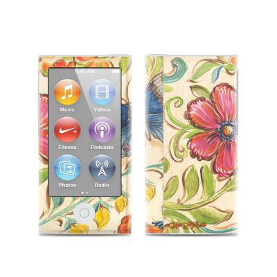 Apple iPod Nano (7G) Skin - Garden Scroll