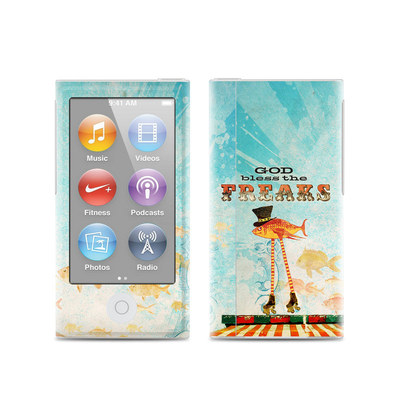 Apple iPod Nano (7G) Skin - God Bless The Freaks