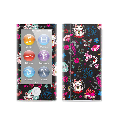 Apple iPod Nano (7G) Skin - Geisha Kitty