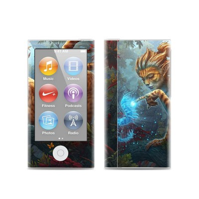 Apple iPod Nano (7G) Skin - Ghost Centipede