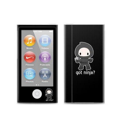 Apple iPod Nano (7G) Skin - Got Ninja