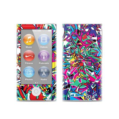 Apple iPod Nano (7G) Skin - Graf