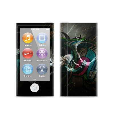Apple iPod Nano (7G) Skin - Graffstract