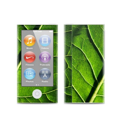 Apple iPod Nano (7G) Skin - Green Leaf