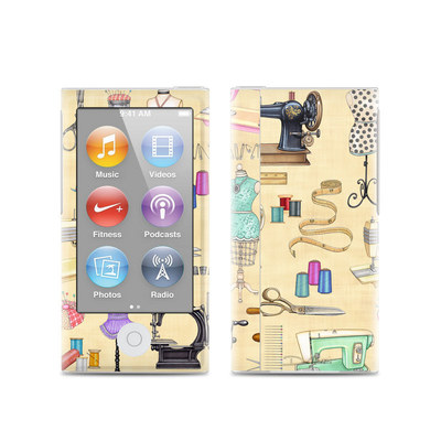 Apple iPod Nano (7G) Skin - Haberdashery