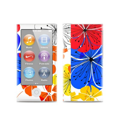 Apple iPod Nano (7G) Skin - Hibiscus Dance