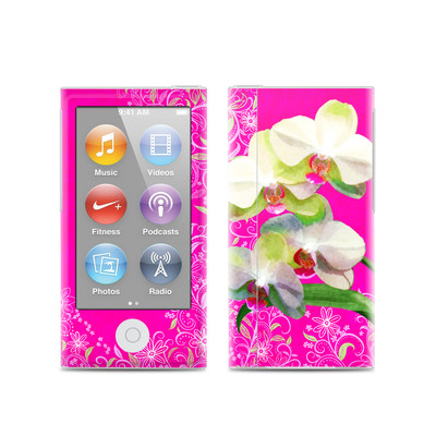 Apple iPod Nano (7G) Skin - Hot Pink Pop