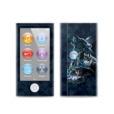 Apple iPod Nano (7G) Skin - Howling