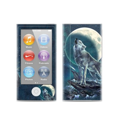 Apple iPod Nano (7G) Skin - Howling Moon Soloist